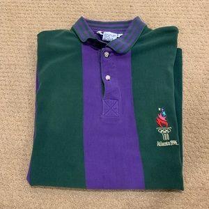 Vintage Champion Atlanta 96' Olympic Polo